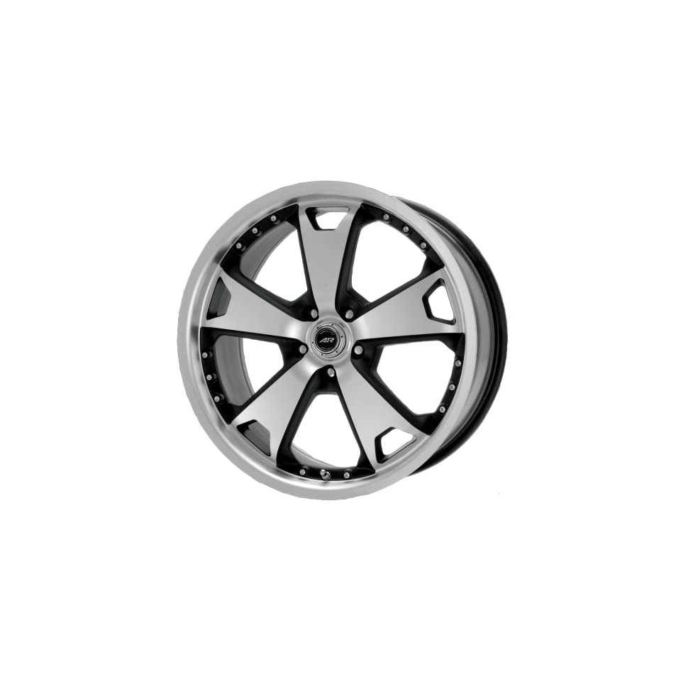 American Racing TXM AR364 Matte Black Wheel with Machined Face and Lip (20x9/5x115mm)