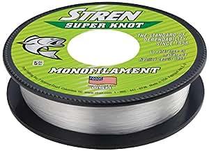 Stren super knot monofilament fishing line for Amazon fishing line