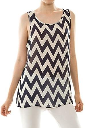 Fantastic Moa Moau00ae Womenu0026#39;s Aqua U0026 White Chevron Print 3/4 Sleeve Fashion Top | Clothes | Pinterest ...