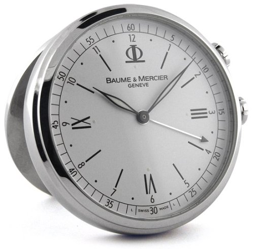 Baume and Mercier Classima Executives Travel Clock 8705