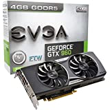 EVGA GeForce GTX 960 4GB FTW ACX 2.0+ with Back Plate GDDR5 128bit, PCI-E 3.0, DVI-I, 3 x DP, HDMI, SLI, HDCP, G-SYNC Ready Graphics Cards 04G-P4-3968-KR