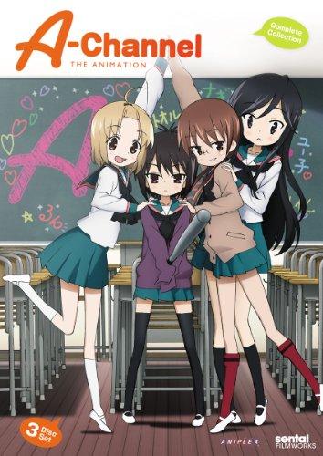 Aチャンネル DVD-BOX (全12話収録) 北米版(日本語音声可)
