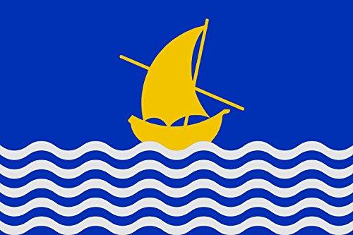 magFlags Bandiera Oficial Albalat de la Ribera | La vila d Albalat de la Ribera 90x150cm