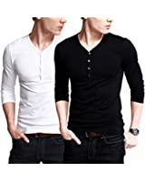 iLoveSIA Homme T-shirt a manches longues,Taille FR M-3XL