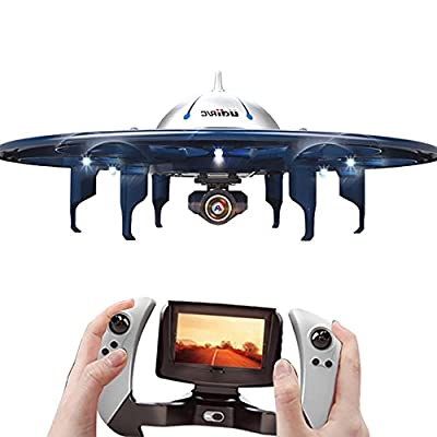 DeeXop -Babrit UFO Wifi Remote Control Quadcopter Drone 2.4GHZ U845 RC Aircraft from DeXop
