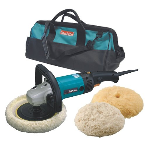 Why Choose The Makita 9227CX3 7-Inch Hook and Loop Electronic Polisher-Sander with Polishing Kit