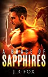 Romance: A Brace of Sapphires (M/M Gay Alpha Omega Mpreg Romance) (Dragon Shifter Paranormal Short Stories)