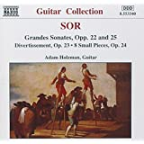 Sor: Grandes Sonates, Opp. 22 & 25