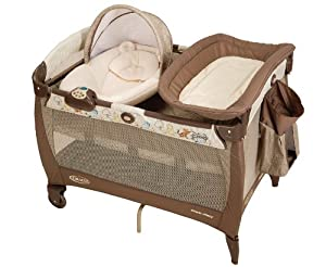 Graco Pack 'N Play Playard with Newborn Napper, Classic Pooh