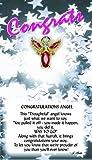 Thoughtful Little Angel 1030 Congratulations Angel Pin