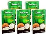 Aroy-D - Kokosmilch - 5er Pack (5 x 5...