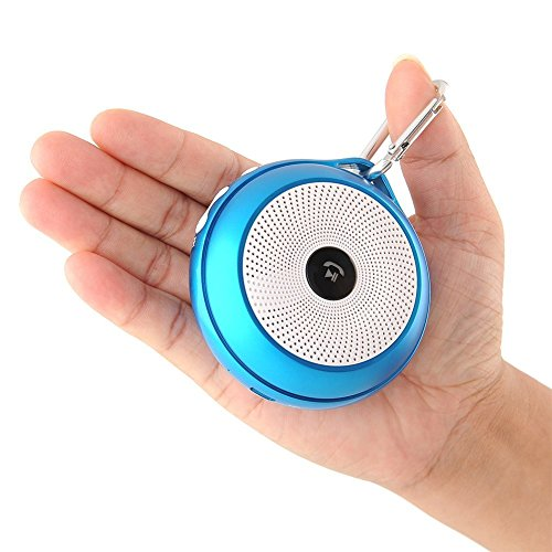 E-More® High Quality F1 Mini Portable Wireless Bluetooth Speaker Hands-Free Calls With Built-In Mic For Iphone 5, 4S, 4, 3Gs, Ipads, Bluetooth Android Phones, Samsung Galaxy Note, Galaxy S3, Galaxy S2, Galaxy Nexus, Htc One X And All Other Smart Phones, T