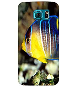 SAMSUNG GALAXY S6 FISH Back Cover by PRINTSWAG