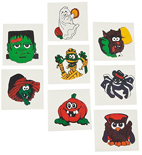 72 ct Halloween Temporary Tattoos - 1