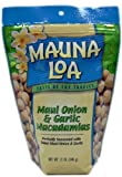 Mauna Loa Macadamia Nuts, Maui Onion and Garlic, Large 11-Ounce (Resealable bag)