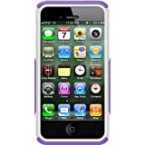 OtterBox Commuter Series Case for iPhone 4/4S-Retail Packaging-Purple/White (Discontinued by Manufacturer)