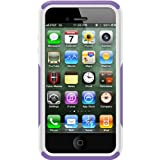 OtterBox Commuter Series Hybrid Case for iPhone 4 and 4S, Purple 10/White (77-18540)