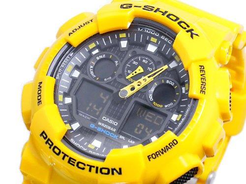 Casio CASIO G shock g-shock an analog-digital watch GA 100A-9 A parallel imported goods