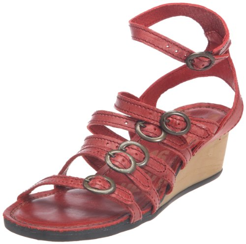 P-L-D-M by Palladium Fiona Bjd, Sandali donna, Rosso (Rouge (Red)), 40