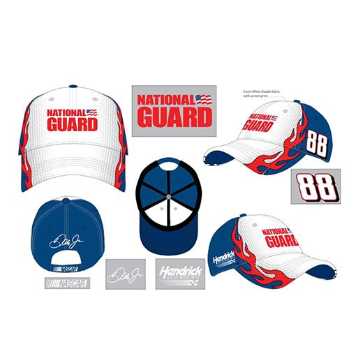 Dale Earnhardt Jr. #88 National Guard Mens Fast Time Hat by NASCAR