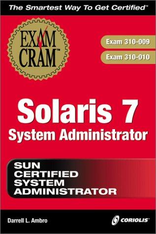 Solaris 7 System Administrator