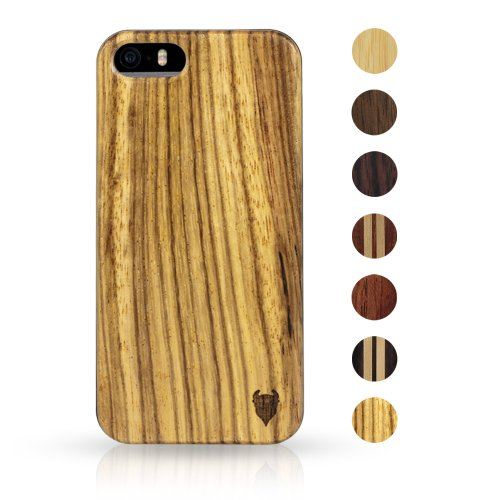 Best Price MediaDevil Artisancase Apple iPhone 5 / iPhone 5S wood case (Zebrawood)