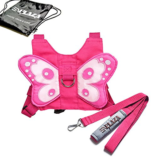 EPlaza-Butterfly-Baby-Walking-Safety-Harness-Reins-Toddler-Child-Strap-Backpack-Kid