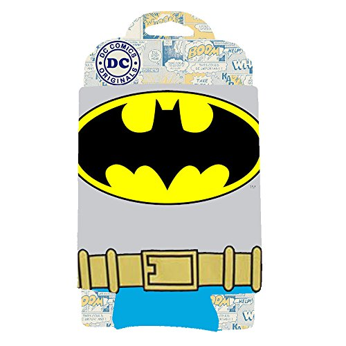 "DC Comics BN01033 Batman Uniform Can Hugger, 4 x 5"", Multicolor"