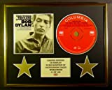 BOB DYLAN/CD DISPLAY/ LIMITED EDITION/COA/THE TIMES THEY ARE A-CHANGIN'