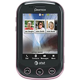 Pantech Pursuit II Phone, Pink (AT&T)