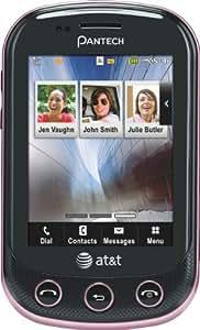 Pantech Pursuit II Phone, Pink (AT&T)
