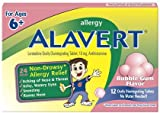 Alavert Kids Ages 6+ Bubblegum 12ct 12 ea