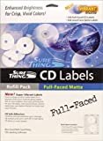 Surething Full-Faced Matte: CD Label Refills
