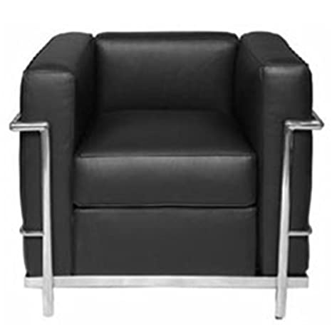 Le Corbusier LC2 Armchair (Black)