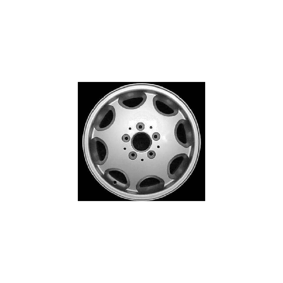 95 97 MERCEDES BENZ E420 e 420 ALLOY WHEEL RIM 15 INCH, Diameter 15, Width 7 (8 HOLE), MACHINED FINISH, 1 Piece Only, Remanufactured (1995 95 1997 97) ALY65163U10