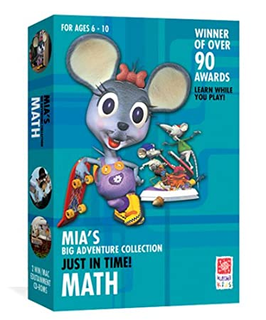Mia's Math Adventure: Just In Time [Old Version]
