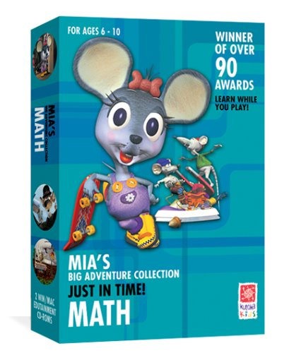 Mia's Math Adventure: Just In Time