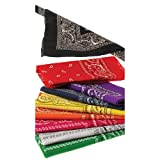 Dozen Bandanas (Choose Variety of Colors)