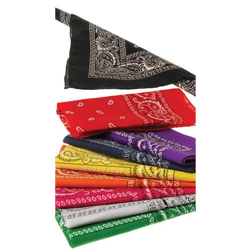 Dozen Bandanas (Choose Variety of Colors) Orange