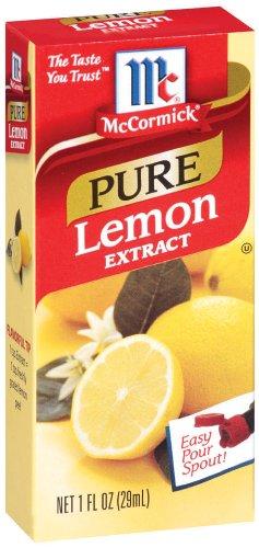 McCormick Lemon, 1-Ounce Units (Pack of 6)