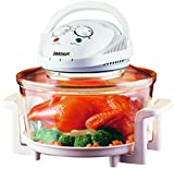Igenix IG1150 Table-Top Halogen Oven Multi-Cooker with Timer and Temperature Control Complete with Low Rack