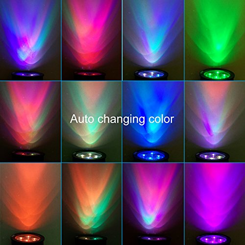 Outdoor Led Solar Spotlight Wall Light Multi Color