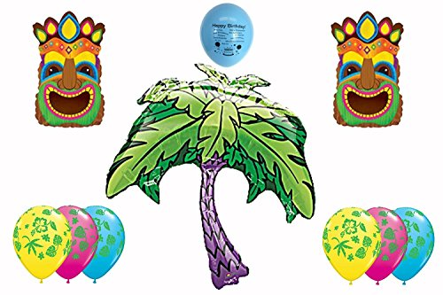 Luau Party Balloon Decorating Kit (Tropical Island Water Table compare prices)