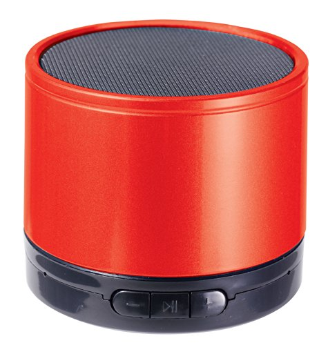 Craig Cma3568Rd Portable Speaker With Bluetooth, Red