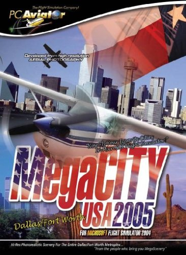 Flight Simulator 2004 - MegaCITY Dallas, PC