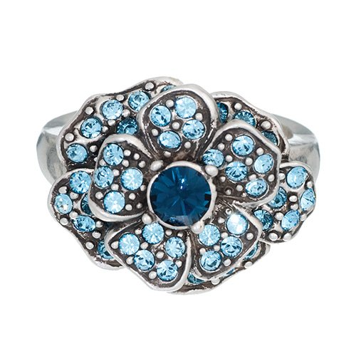 Annaleece Crystal Jewelry Duchess, Size 08 - Ring