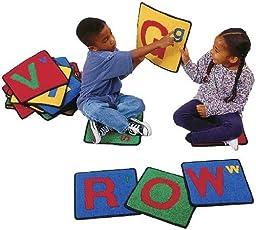 Carpets For Kids 926 Alphabet Squares - Set of 26