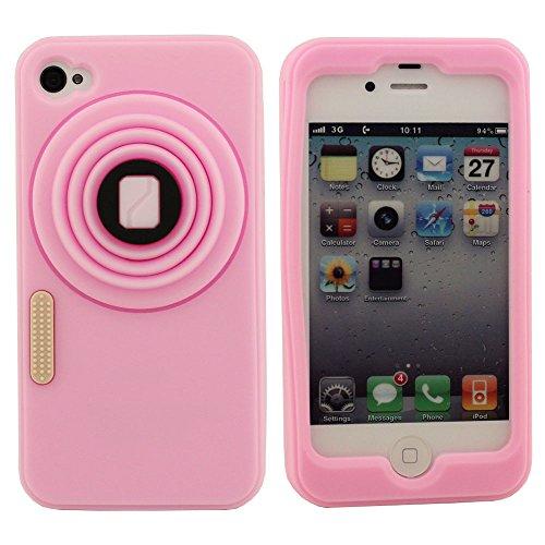 iPhone 4 / 4S / 4G Hülle Tasche Schutzhülle Weich Hülle Schutz- Hülle Hülle Stoßstange Silikon Gel Hülle Schön und Gut Berühren Gefühl