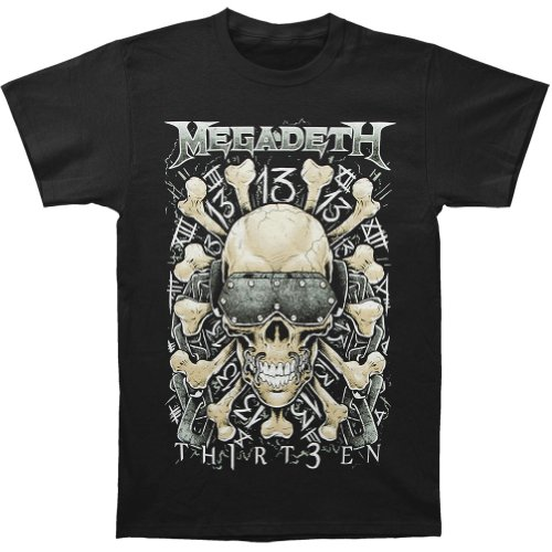 Megadeth Red Bones Regular T-Shirt Medium