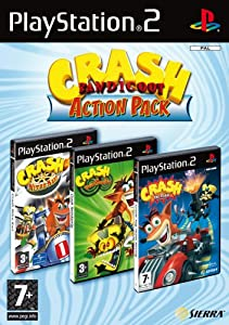 Crash Bandicoot: Action Pack (PS2)